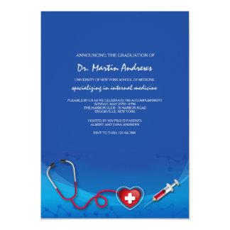 Medizinische Grenzeinladung 12,7 X 17,8 Cm Einladungskarte
