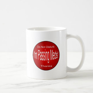 Meds-Überschreiten Tasse
