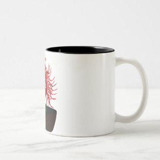 Medusa-Blume Zweifarbige Tasse