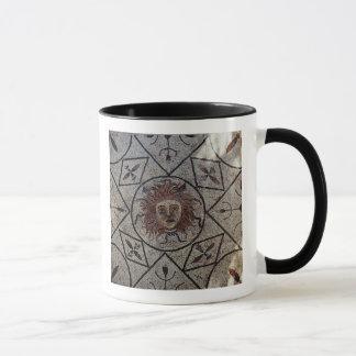 Medusa, römisches Mosaik vom Haus von Orpheus Tasse