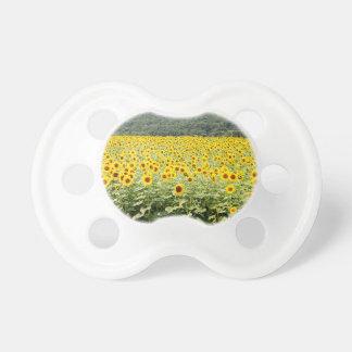 Meer der Sonnenblumen Schnuller
