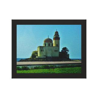 Meer-Moschee Leinwanddruck