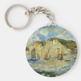 Meer und Klippen durch Pierre Renoir, Vintage Schlüsselanhänger