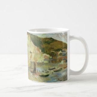 Meer und Klippen durch Pierre Renoir, Vintage Tasse