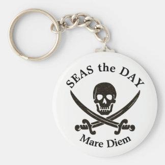 Meere der Tagespirat Keychain Schlüsselanhänger