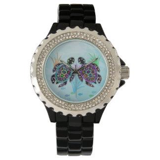 Meeresschildkröte-Glühen Uhren