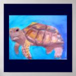 Meeresschildkröte-Plakat