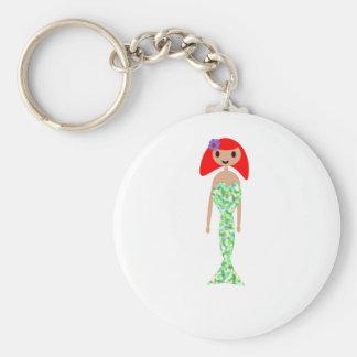 Meerjungfrau Raibow Schwanz Schlüsselanhänger