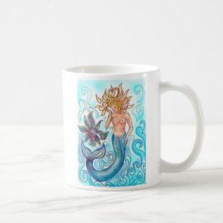 Meerjungfrau und die Perle Kaffeetasse
