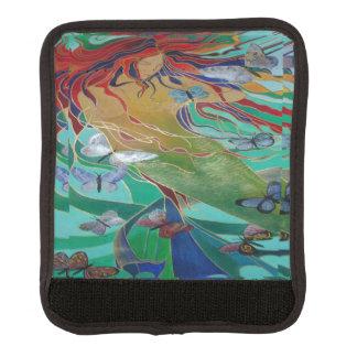 Meerjungfrau und Schmetterlinge Koffergriffwickel