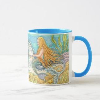 Meerjungfrau und SeeStallion Merhorse Tasse