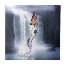 Meerjungfrau-Wasser Kleine Quadratische Fliese