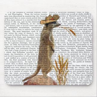 Meerkat Cowboy Mousepad