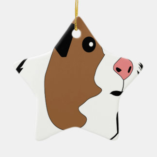 Meerschweinchen-Illustration Keramik Ornament