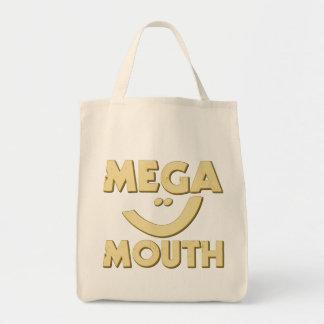 Mega- Mund Einkaufstasche