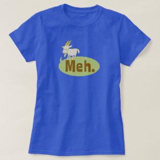 Meh (sagte die Ziege), lustiger Wordplay-Cartoon T-Shirt