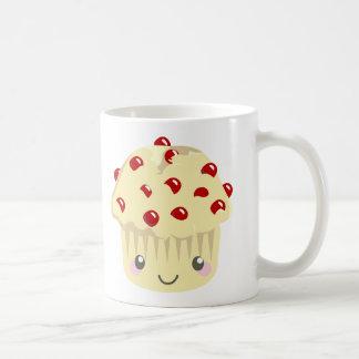 Mehr Kawaii Muffin-Gesichter Tasse