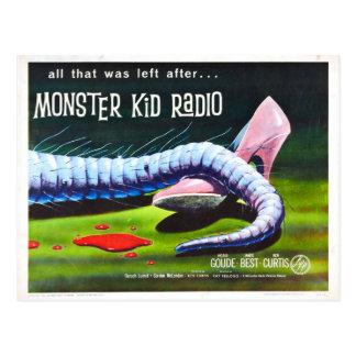 Mehr Mörder-Spitzmäuse vom Monster-Kinderradio Postkarte