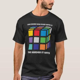 Mehr spielen Sie mit es T-Stück - Schwarzes T-Shirt