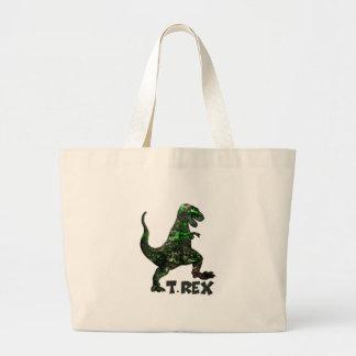 Mehrfache Produkte Dinosauriers T Rex ausgewählt Jumbo Stoffbeutel