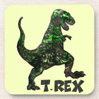 Mehrfache Produkte Dinosauriers T Rex ausgewählt Untersetzer