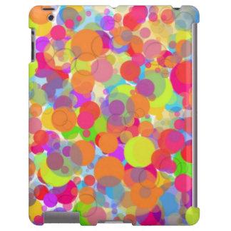 Mehrfarbiger Blasen ipad Fall iPad Hülle