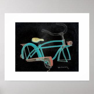 Mein altes Fahrrad Poster