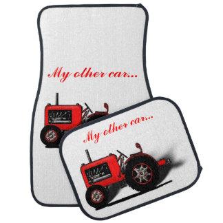 Mein anderes Auto… (Traktor-Bild oder Ihr Foto) Auto Fussmatte
