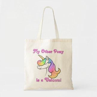Mein anderes Pony ist eine Unicorn-Taschentasche Tragetasche