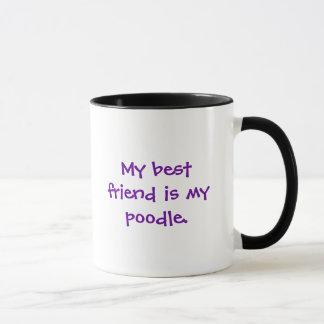 Mein bester Freund ist mein Pudel Tasse
