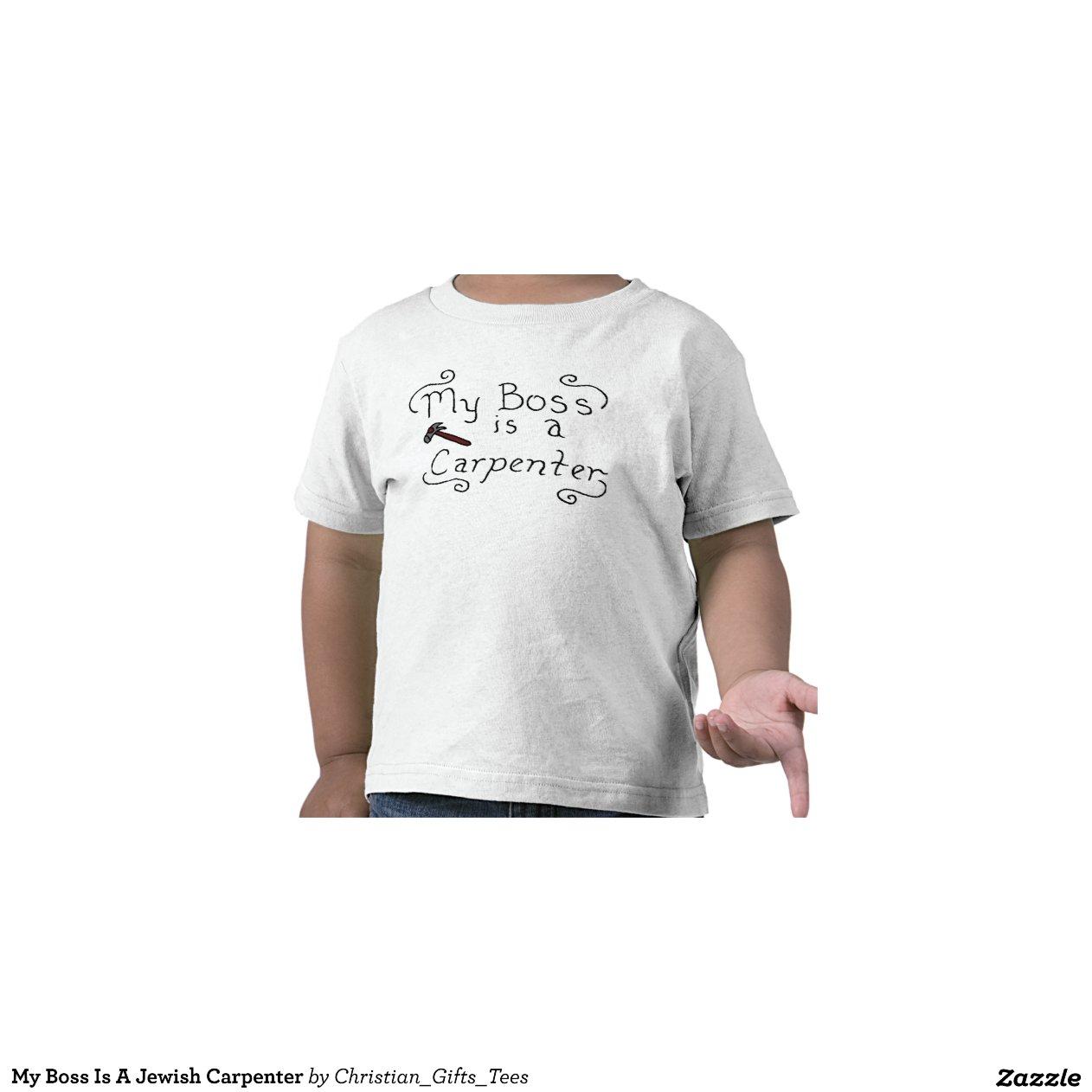 mein chef ist ein j discher tischler t shirt zazzle. Black Bedroom Furniture Sets. Home Design Ideas