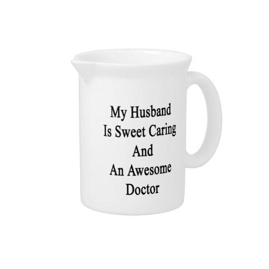 Mein Ehemann ist sich kümmerte und ein Krug