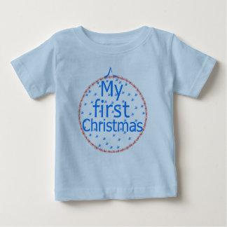 Mein erster Weihnachtsflitterentwurf Baby T-shirt