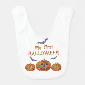 Mein erstes Halloween für Baby: Kürbise und Babylätzchen