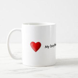 Mein Freund ist die beste Kaffee-Tasse Tasse