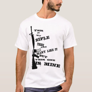 Mein Gewehr T-Shirt