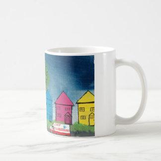 Mein Haus und Krankenwagen Tasse