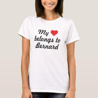 Mein Herz gehört Bernard T-Shirt