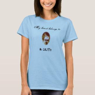 Mein Herz gehört einem Cajun T-Shirt