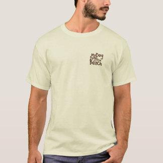 Mein Hund gräbt das Strand-Shirt T-Shirt