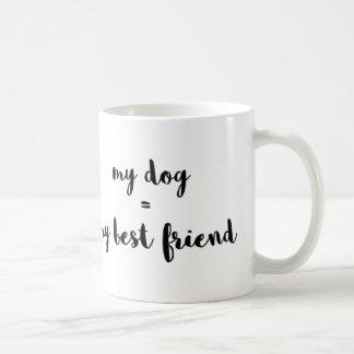 Mein Hund ist mein bester Freund Tasse