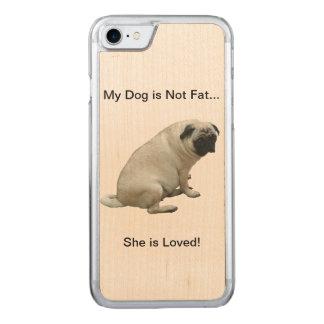 Mein Hund ist nicht fetter Mops Carved iPhone 8/7 Hülle