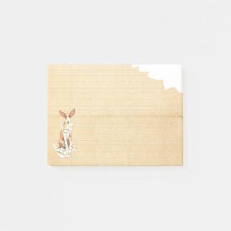 Mein Ibizan Jagdhund aß meine Hausaufgaben Post-it Klebezettel