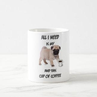 Mein Kaffee Mops Kaffeetasse