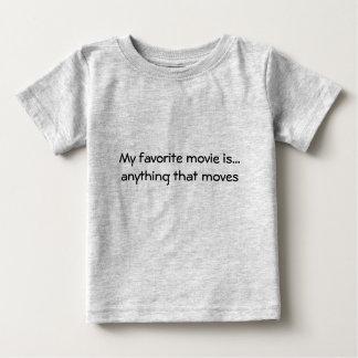Mein Lieblingsfilm ist… aller, der sich bewegt Baby T-shirt