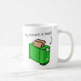 Mein Magen ist Toast Kaffeetasse