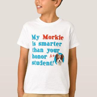 Mein morkie ist intelligentere Kopie T-Shirt