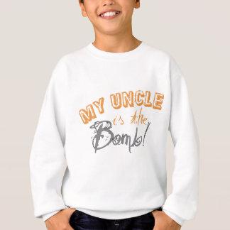 mein Onkel ist die Bombe Sweatshirt