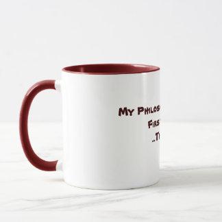 Mein Philosophie-Inselbewohner Tasse