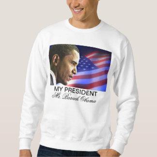 Mein Präsident Herr Barack Obama (patriotisch) Sweatshirt